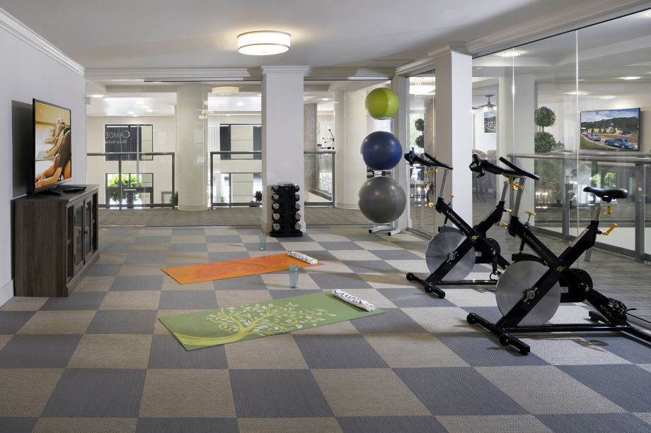 Yoga and Spin Studio at Camden Boca Raton Apartments in Boca Raton, FL