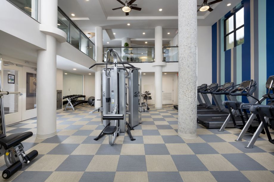 Fitness Center at Camden Boca Raton Apartments in Boca Raton, FL
