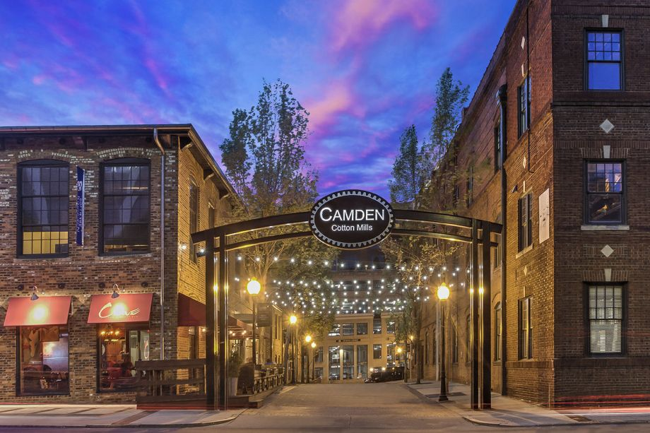 Camden Apartments Charlotte Nc