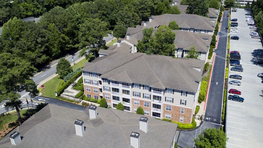 Apartment Buildings at Camden Creekstone Apartments in Atlanta, GA