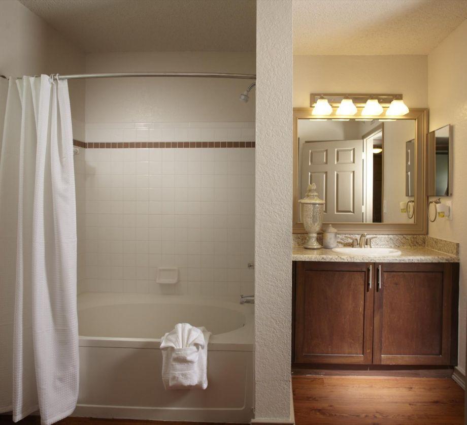 Bathroom at Camden Doral Apartments in Doral, FL