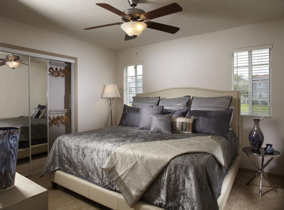Bedroom at Camden Doral Apartments in Doral, FL
