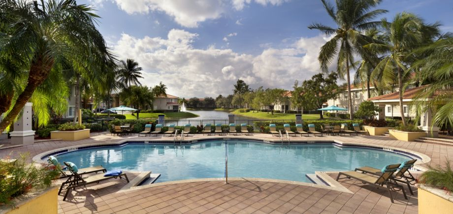 Pool at Camden Doral Apartments in Doral, FL