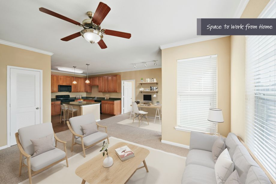 Space to Work from Home at Camden Downs at Cinco Ranch Apartments in Katy, TX