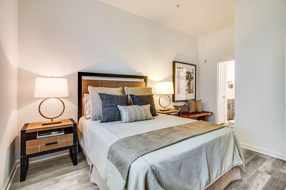 En Suite Bedroom at Camden Dulles Station Apartments in Herndon, VA