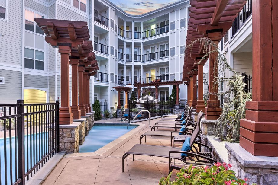 Sundeck at Camden Dulles Station Apartments in Herndon, VA