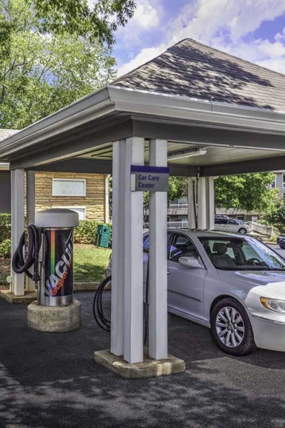 Car Care Center at Camden Fairview Apartments in Charlotte, NC
