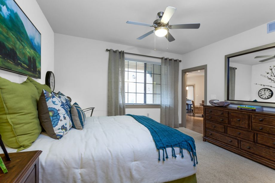 Bedroom at Camden Foothills Apartments in Scottsdale, AZ
