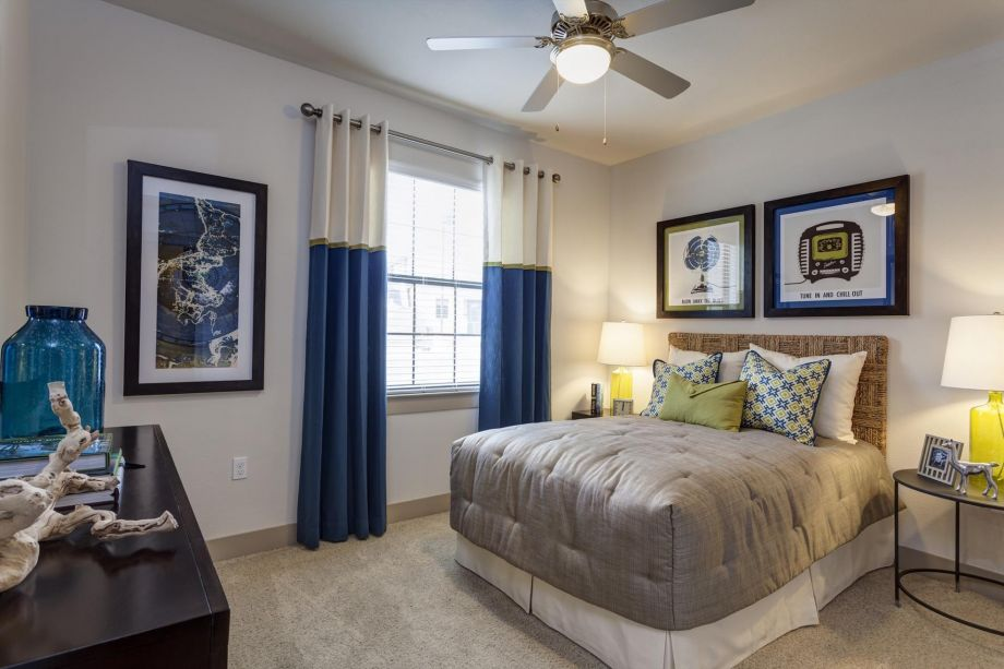 Guest Bedroom at Camden Foothills Apartments in Scottsdale, AZ