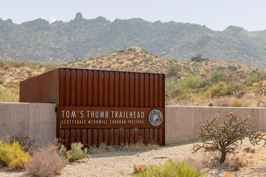 Tom's Thumb Trailhead near Camden Foothills Apartments in Scottsdale, AZ