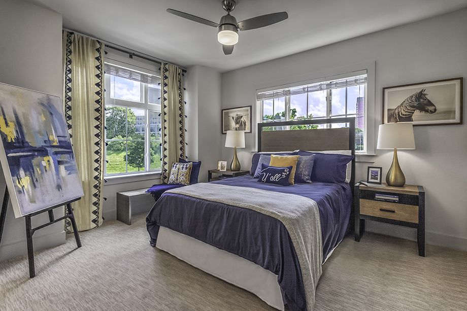 Second Bedroom at Camden Grandview Townhomes in Charlotte, NC