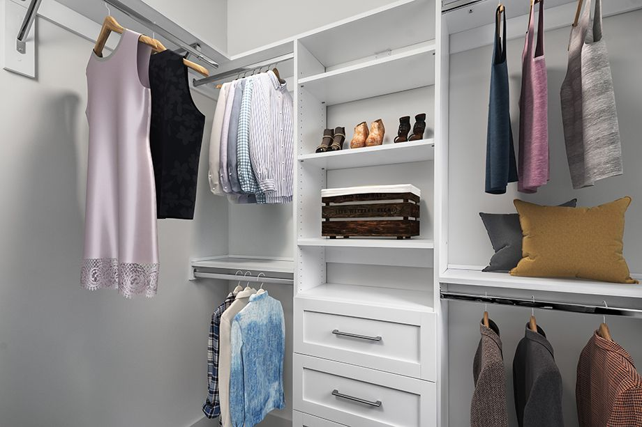 Second Bedroom Closet at Camden Grandview Townhomes in Charlotte, NC