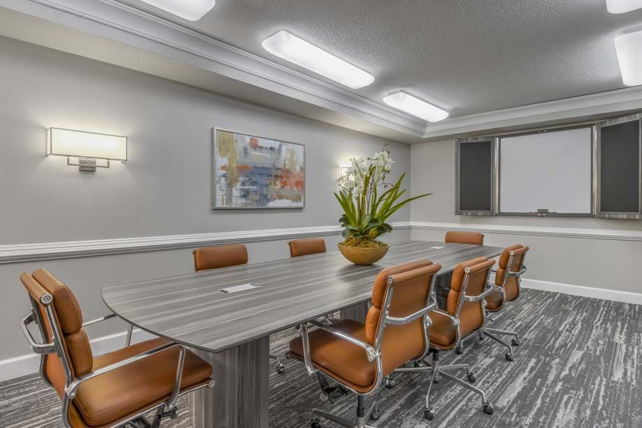 Conference Room  at Camden Grandview Apartments in Charlotte, NC