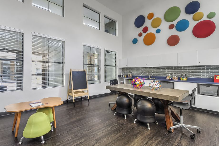 Children's Arts and Crafts Room at Camden Highlands Ridge Apartments in Highlands Ranch, CO