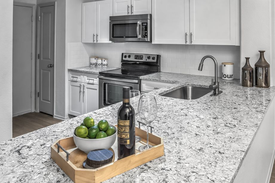 Kitchen at Camden Highlands Ridge Apartments in Highlands Ranch, CO