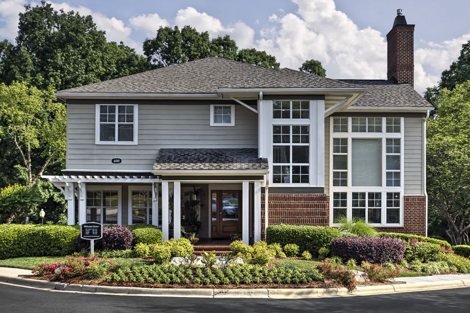 Welcome Center at Camden Lake Pine Apartments in Apex, NC