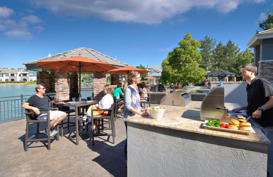 BBQ Grills at Camden Lakeway Apartments in Lakewood, CO