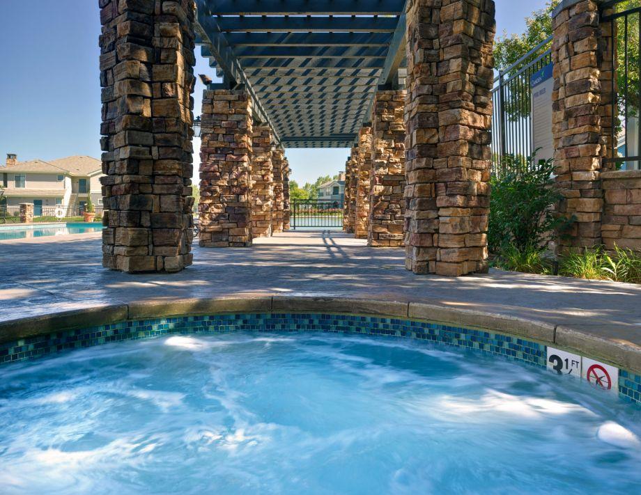 Hot Tub at Camden Lakeway Apartments in Lakewood, CO