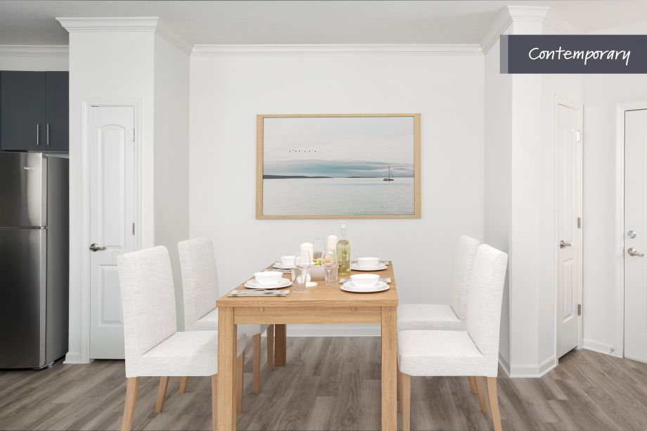 Contemporary Dining Room at Camden LaVina Apartments in Orlando, FL