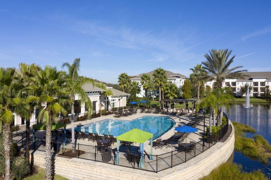 Pool at Camden LaVina Apartments in Orlando, FL