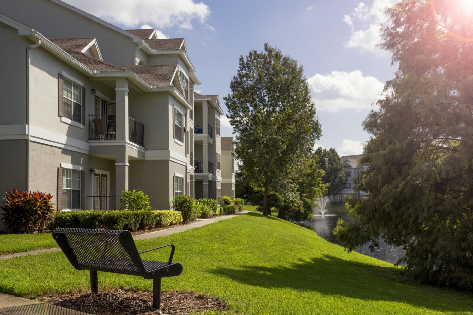 Bench at Camden Lee Vista Apartments in Orlando, FL