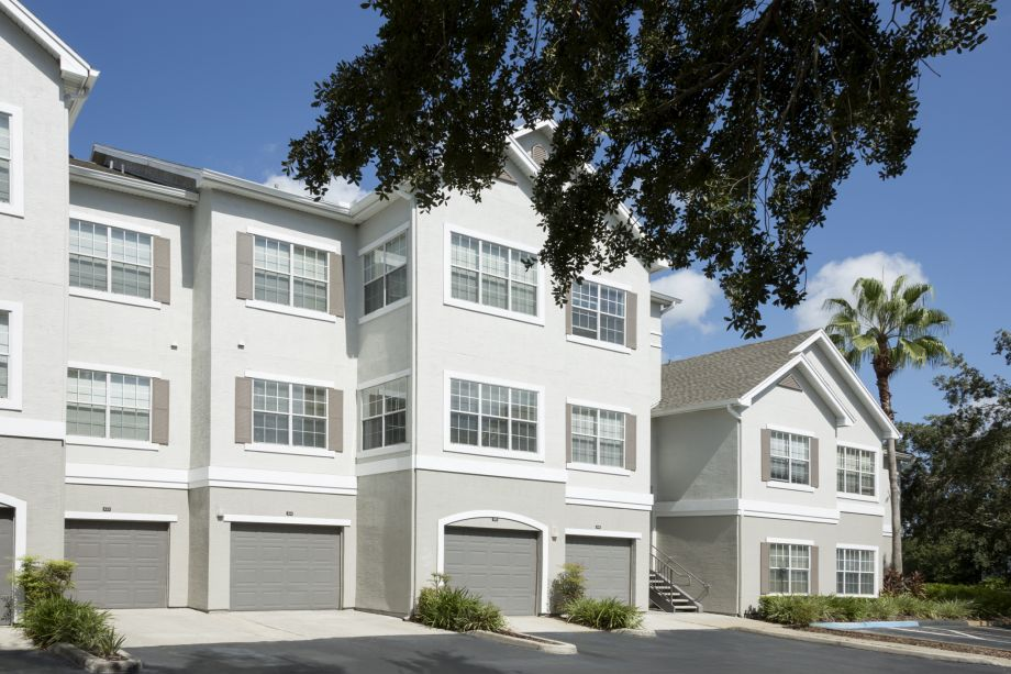 Attached Garage at Camden Lee Vista Apartments in Orlando, FL
