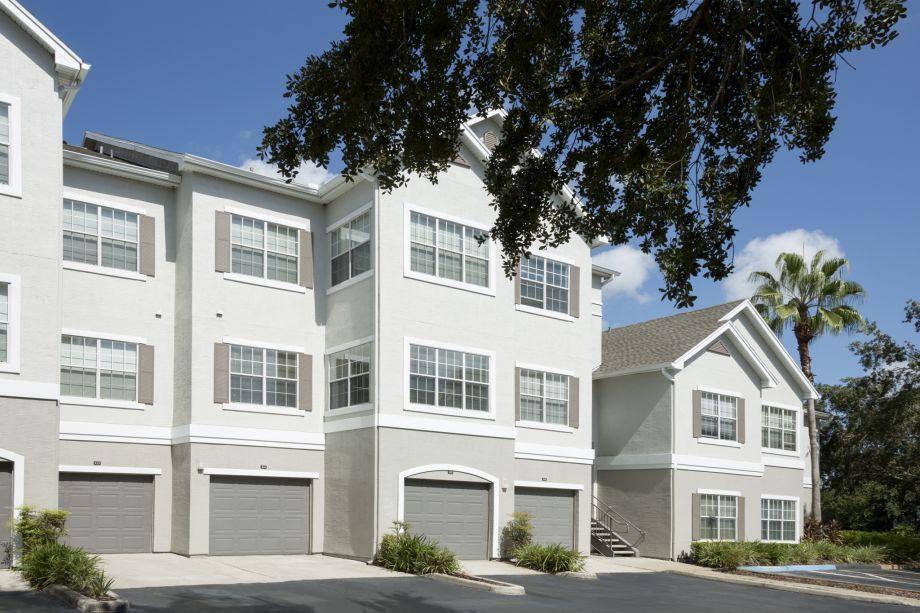 Attached Garage at Camden Lee Vista Apartments in Orlando, FL