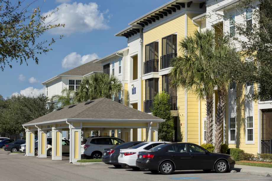 Carport at Camden Montague Apartments in Tampa, FL