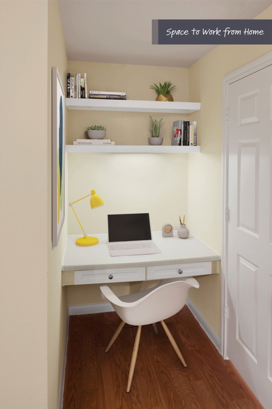 Space to work from home at Camden Oak Crest Apartments in Houston, TX