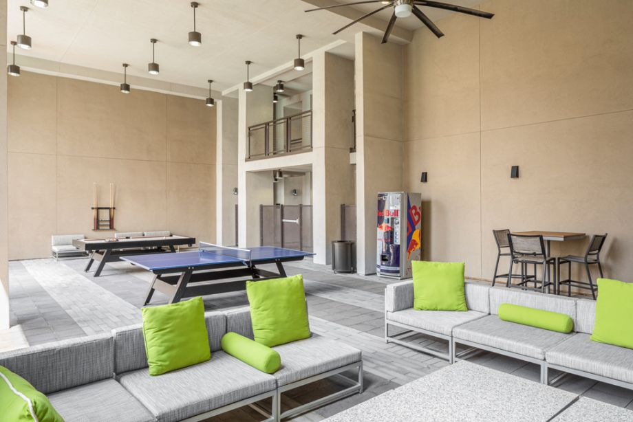 Outdoor Lounge Seating at Camden Old Town Scottsdale Apartments in Scottsdale, AZ