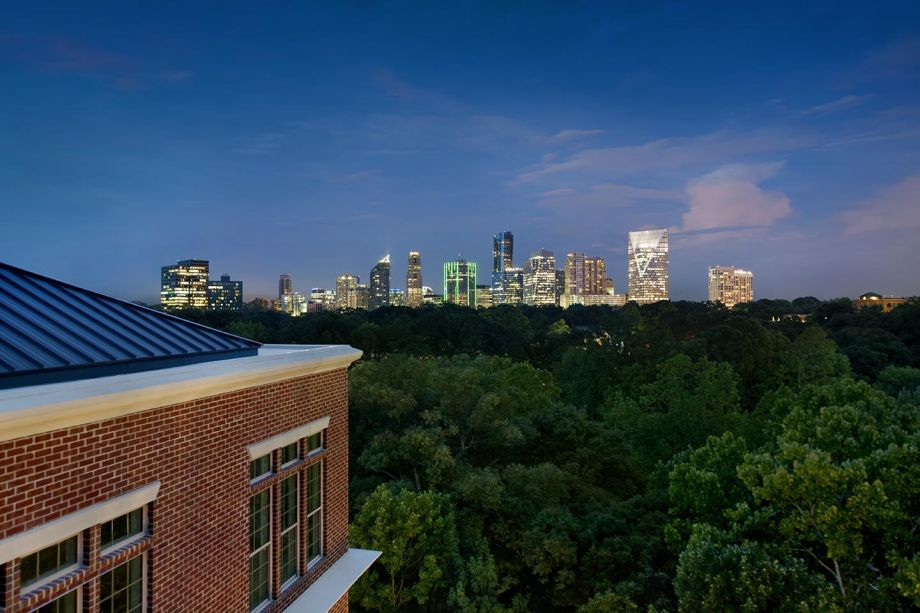 Downtown View at Camden Paces Apartments in Atlanta, GA