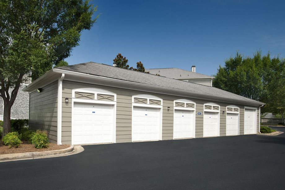 Garages at Camden Peachtree City Apartments in Peachtree City, GA