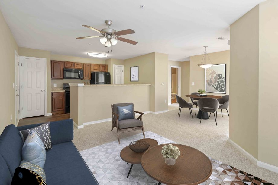 Open Living at Camden Reunion Park Apartments in Apex, NC
