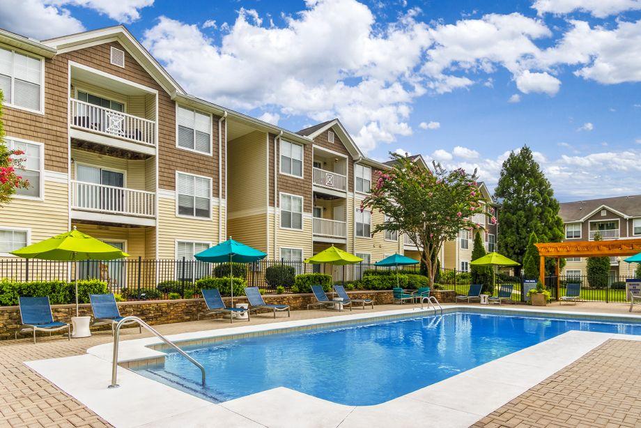 Main Pool at Camden Reunion Park Apartments in Apex, NC