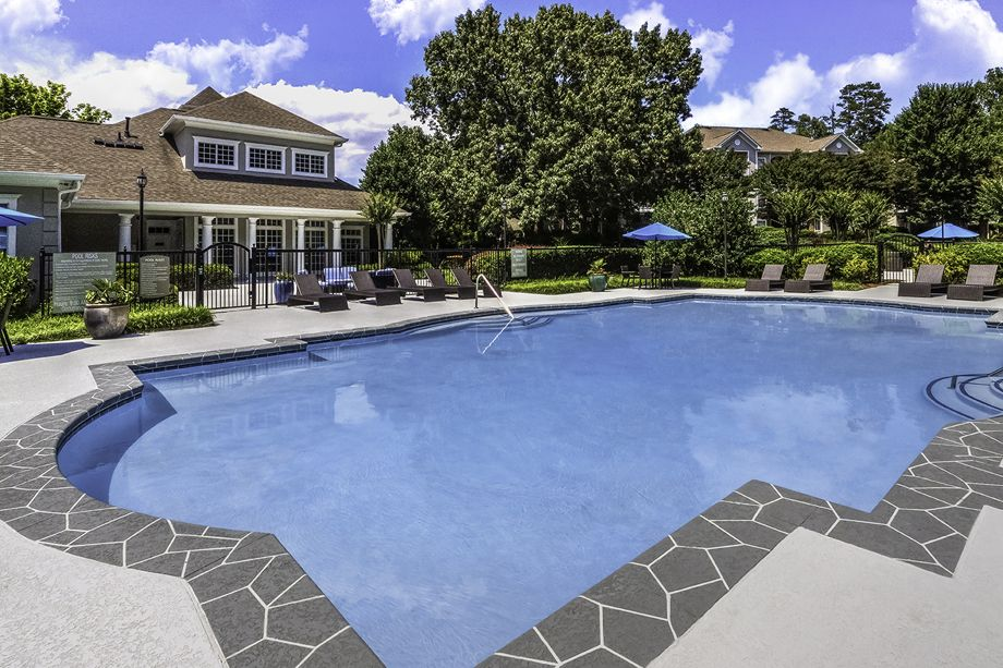 Pool at Camden Shiloh Apartments in Kennesaw, GA