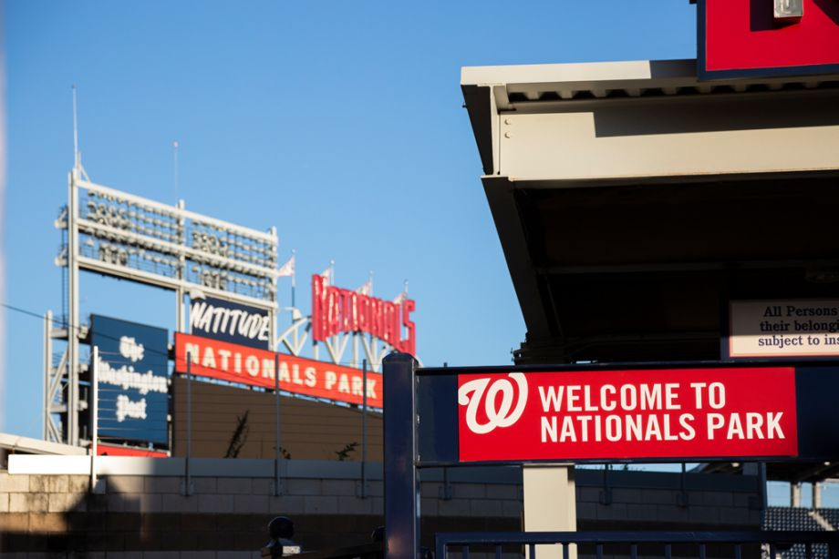 Nearby Washington Nationals Ballpark at Camden South Capitol Apartments in Washington, DC