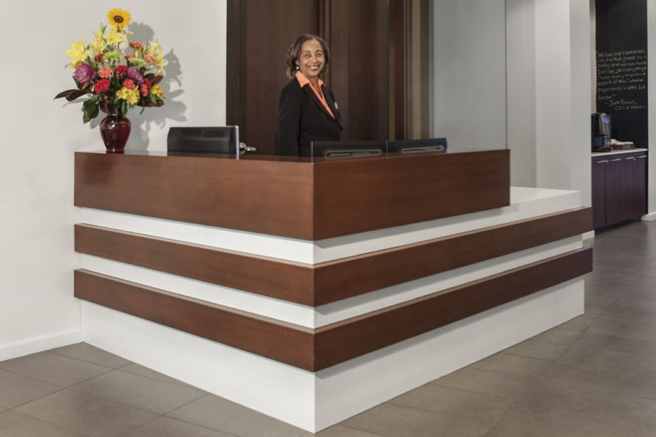 Concierge Desk at Camden South Capitol Apartments in Washington, DC
