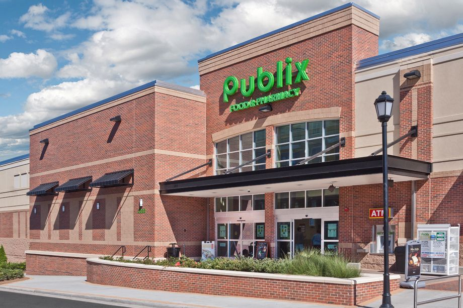 Walking distance to Publix grocery store at Camden Southline apartments in Charlotte, NC