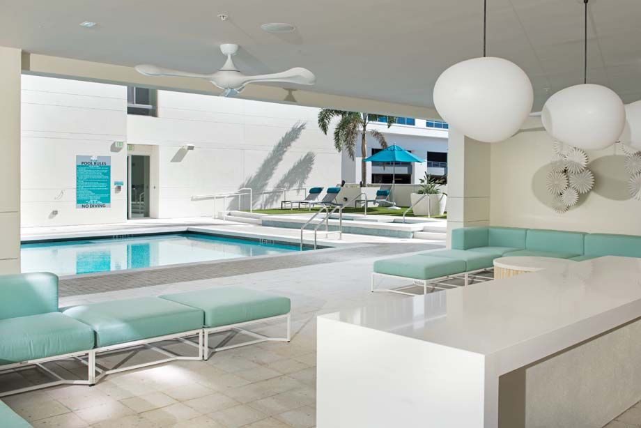 Chill Lounge at Camden Thornton Park Apartments in Orlando, FL