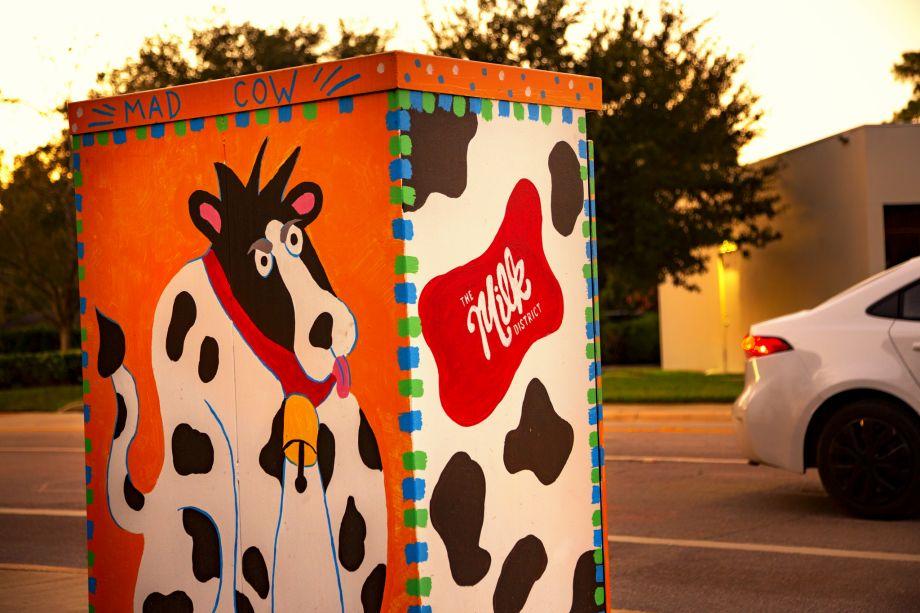 Neighborhood Milk District at Camden Thornton Park Apartments in Orlando, FL