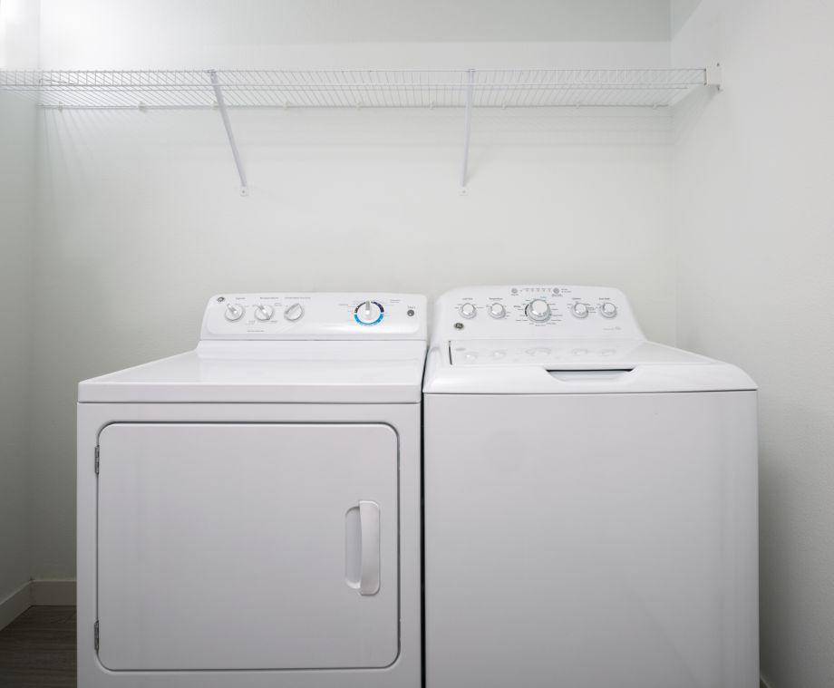 Washer Dryer at Camden Thornton Park Apartments in Orlando, FL