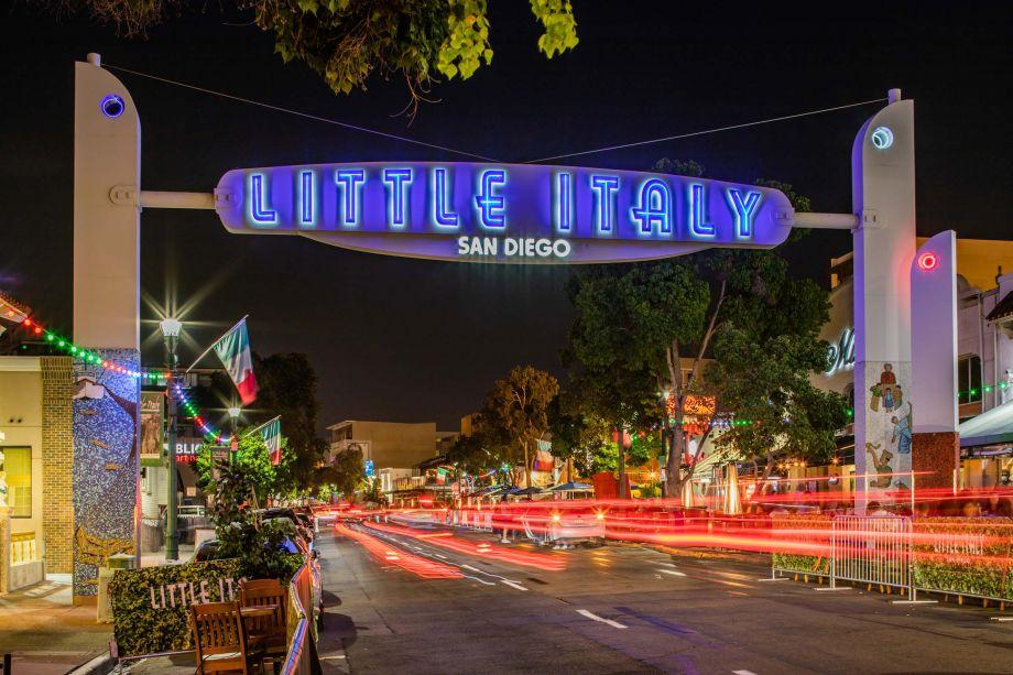 Neighborhood Little Italy near Camden Tuscany Apartments in San Diego, CA