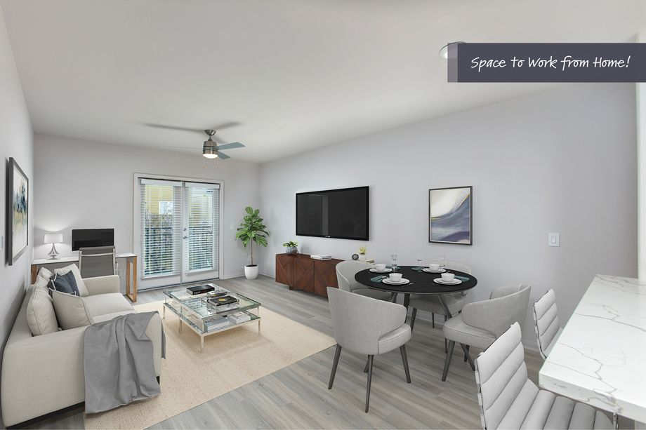 Space to Work from Home at Camden Tuscany Apartments in San Diego, CA