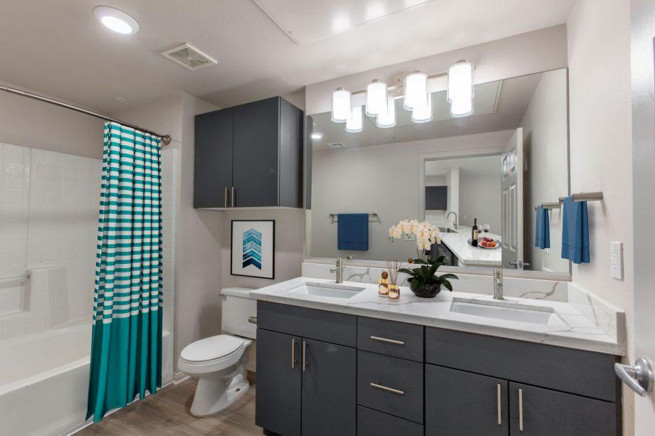 Bathroom at Camden Tuscany Apartments in San Diego, CA
