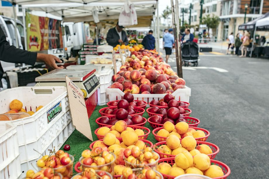 Farmer's Market near the Camden Tuscany Apartments in San Diego, CA