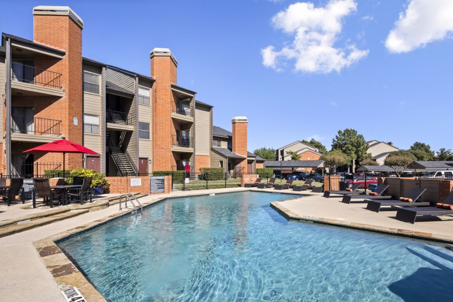 Second Pool at Camden Valley Park Apartments in Irving, TX