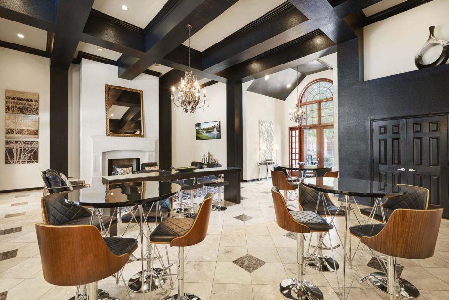 Resident Clubhouse at Camden Vanderbilt Apartments in Houston, Texas