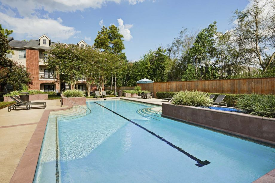 Pool at Camden Vanderbilt Apartments in Houston, Texas