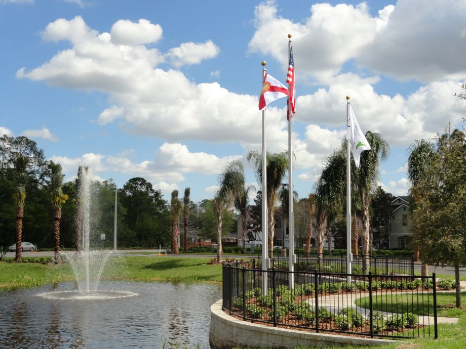 Entrance at Camden Westchase Park Apartments in Tampa, FL