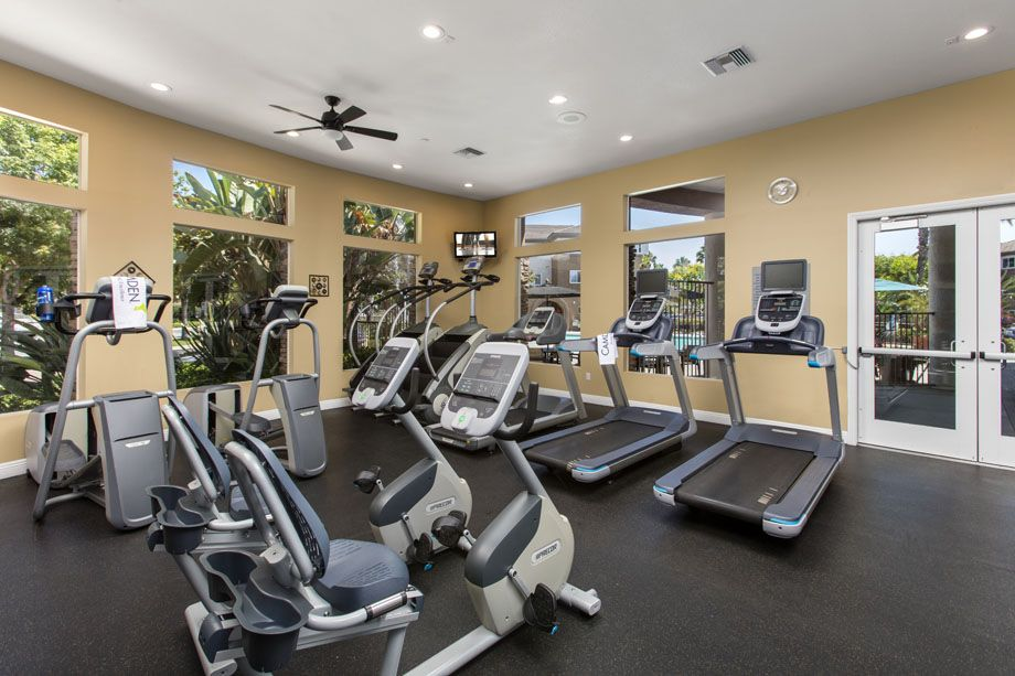 Fitness Center at Camden Sierra at Otay Ranch apartments in Chula Vista, CA